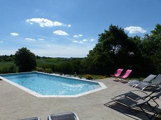 gîtes écologiques avec piscine